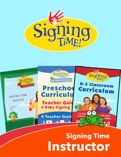 Signing Time Instructor